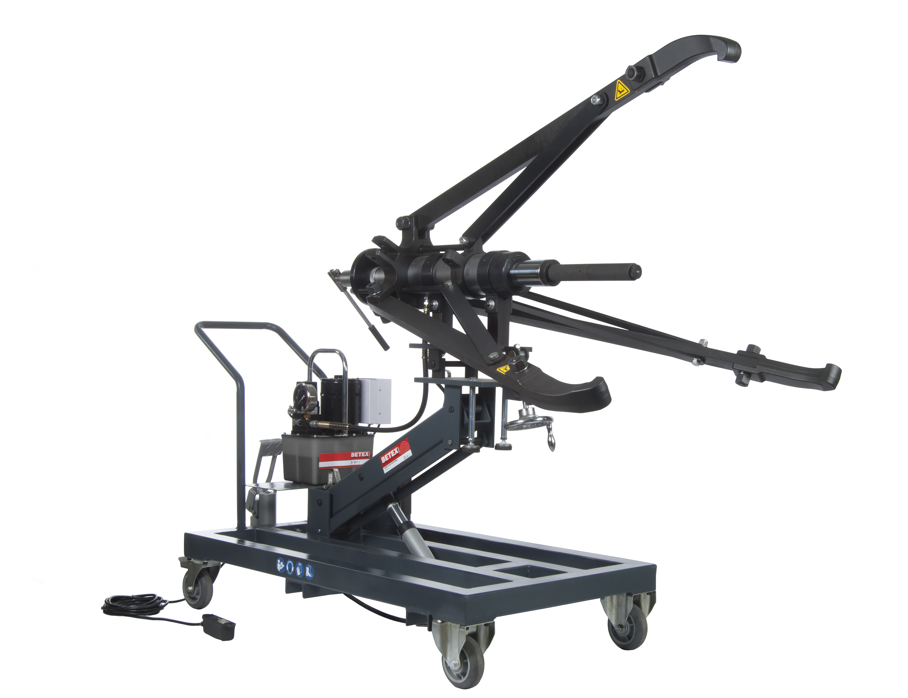 Mobile Hydraulic Puller : Document moved